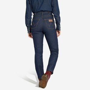 Wrangler- 11WWZ Western High Rise Slim Fit Jeans